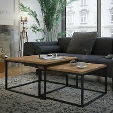 details zu couchtisch yoshi 2in1 modern kaffetisch sofatisch beistelltisch wohnzimmer