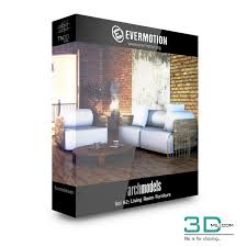 Evermotion Archmodels Vol 92 Living Room Furniture 3D