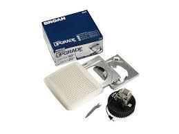 broan 690 bathroom fan upgrade kit 60 cfm bathroom exhaust fan