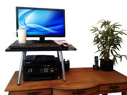 Dual Screen Standing Desk by The Seven Best Standing Desks Examined Existence