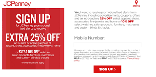 Save 25% At JCPenney When You Sign Up For Text Alerts ...