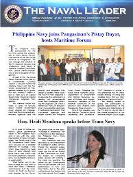 100 Heidi Mendoza The Naval Leader April 2012 Issue Philippines Navies