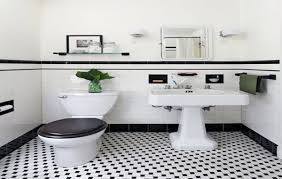 black and white bathroom floor tiles carpet flooring ideas