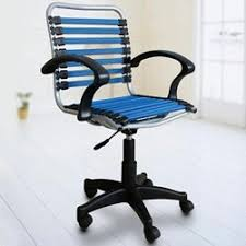 bungree elastic office chair blue black amazon co uk