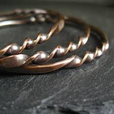 Give It A Twist New Copper Bangles