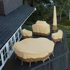 semi circle patio furniture cover home outdoor decoration