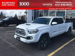 Toyota Trucks For Sale In Brockville | 1000 Islands Toyota 7 Things To Know About Toyotas Newest Trd Pro Trucks Davis Autosports 2004 Toyota Tacoma 4x4 For Sale Crew Cab 1 Leasebusters Canadas Lease Takeover Pioneers 2015 2016 V6 Limited Review Car And Driver Pickup Truck Of The Year Walkaround New 2018 Sr5 Access 6 Bed At A Versatile Midsize Truck That Is Ready To Go Rack Active Cargo System For Long Production Is Maxed Out As The Midsize Towing Capacity Daytona 62017 Pickup Recalled 228000 Us Vehicles Affected
