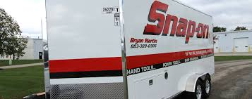100 Kidds Trucks Bryan Martins 18 Snapon Sales Trailer LDV