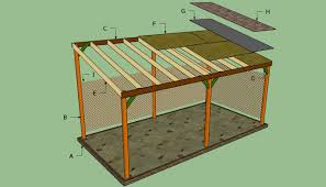 Slant Roof Shed Plans Free by How To Build A Lean To Carport Howtospecialist How To Build