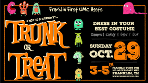 Pumpkin Fest Franklin Tennessee by Trunk Or Treat