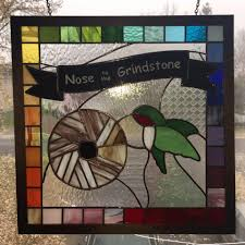 Nose To The Grindstone Stained Glass Added 3 New Photos