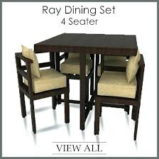4 Chair Dining Table Set Four The