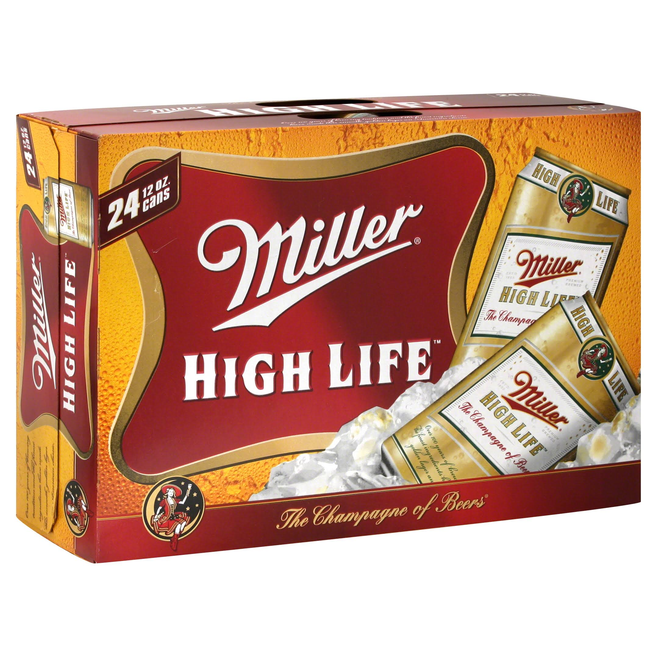 Miller High Life Beer - 24pk, 12oz Cans