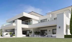 luxueuse villa par ark architects san roque espagne