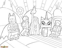 Coloring Pages Of Legos 18 The LEGO Movie Free Printable