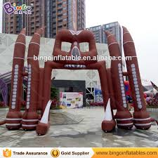 Halloween Inflatable Spider Archway by Buy Giant Halloween Inflatables And Get Free Shipping On