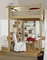 chambre loggia lit mezzanine modulable espace loggia idées déco