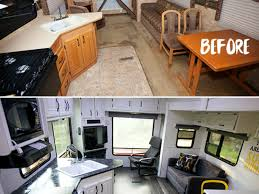 5th Wheel Campers With Bunk Beds by Interior Amazing Camper Remodel Ideas Camper Reno Best