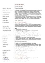 Resumes For Nurses Template Free Professional Resume Templates Registered Nurse