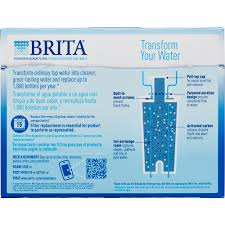 Brita Faucet Mounted Water Filters by Brita Replacement Water Filter For Pitchers 3 Ct Walmart Com
