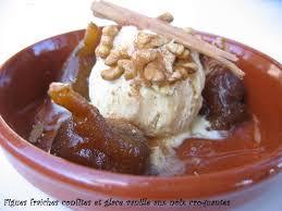 cuisiner figues fraiches figues fraiches confites glace vanille craquante au noix le