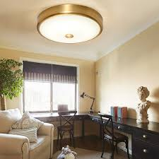 runde glas schatten led deckenleuchte wohnzimmer schlafzimmer beleuchtet messing metall moderne decken le restaurant aisle korridor