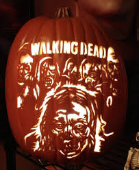 Walking Dead Halloween Stencils by Smashing Pumpkins A Closer Look At Some Very Cool Carving