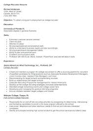 Human Resource Recruiters Resume Outsourcing Recruiter Example Sample