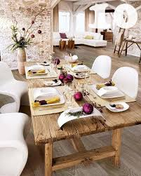 Rustic Chic Dining Room Ideas by 14 Fabulous Rustic Chic Dining Tables Inspiration Picklee