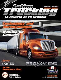 Latino Trucking June-July 2015 By Creative Minds - Issuu Trucking Companies Home Fleet Cure Conway Rest Area I44 In Missouri Pt 1 More I40 Traffic Part 3 I5 California Maxwell 10 Salinas Companies Named Wrongful Death Lawsuit Pak Cargo Truck Driver Simulator Game Pk To Jk Amazing 3d Game 2015 Transportation Buyers Guide By Annexnewcom Lp Issuu Barstow 8