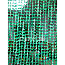 forty five strings of beads 2cm interval green beaded curtains