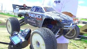 100 Traxxas Nitro Rc Trucks RC ADVENTURES Revo 33 2spd 4WD Monster Truck YouTube