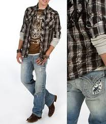 Rock Roll Cowboy Mens Relaxed Fit Double Barrel Love The Boot