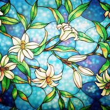 Artscape Magnolia Decorative Window Film by Amazon Com Bofeifs Decorative Privacy Window Film Frosted Window