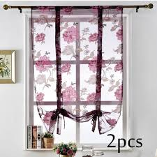 2019 Sheer Window Linen Embroidered Tulle For Living Room Bedroom Kitchen Modern Pattern Decor Feather Pastoral E Friendly Style Curtain From Bigmum