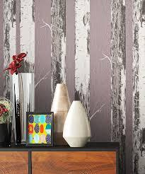 newroom vliestapete blumentapete lila weiß wallpaper floral blumen tapete birke pflanzen wohnzimmer schlafzimmer büro flur kaufen otto