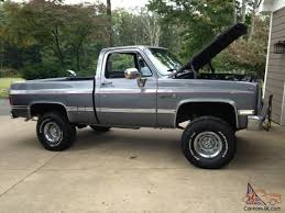 1986 GMC SIERRA CHEVY K1500 Wide Side 4X4