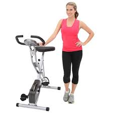 1 Exerpeutic Folding Magnetic Upright Bike