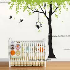 Nursery Customize Tree Stencil