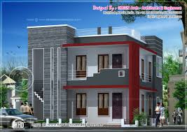 Contemporary House Elevation And Plan At 2000 Sq Ft First Floor ... 3 Awesome Indian Home Elevations Kerala Home Designkerala House Designs With Elevations Pictures Decorating Surprising Front Elevation 40 About Remodel Modern Brown Color Bungalow House Elevation Design 7050 Tamil Nadu Plans And Gallery 1200 Design D Concepts Best Kitchens Of 2012 With Plan 2435 Sqft Appliance India Windows Youtube Front Modern 2017