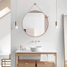 schwarz nordic badezimmerspiegel badezimmer wandbehang
