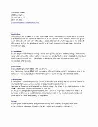 Dispatcher Resume Beautiful 51 Awesome Truck Driver Sample Fresh Templates 2018
