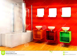 Bright Red Bathroom Rugs by Bathroom Pleasing Red Bathroom Decor Pictures Ideas Tips From