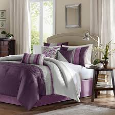 Shop Madison Park Amherst Bed Set Purple The Home Decorating