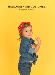 Rosie The Riveter Halloween Diy by 19 Adorable Halloween Diys For Toddlers And To Make With Toddlers
