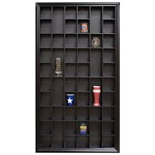 Home Depot Decorative Shelves by Gallery Solutions 17 9 In W X 2 7 In D Black Shot Glass