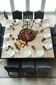 Dining Tables Glamorous Large Round Table Seats 12 Person Size Wooden