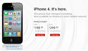 Verizon iPhone 4 now available to order online Geek