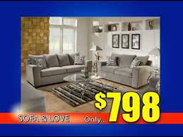 sofa and loveseat sale commercial from american freight furniture