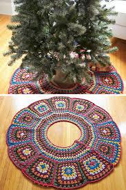10 Crochet Christmas Tree Skirt Free Patterns